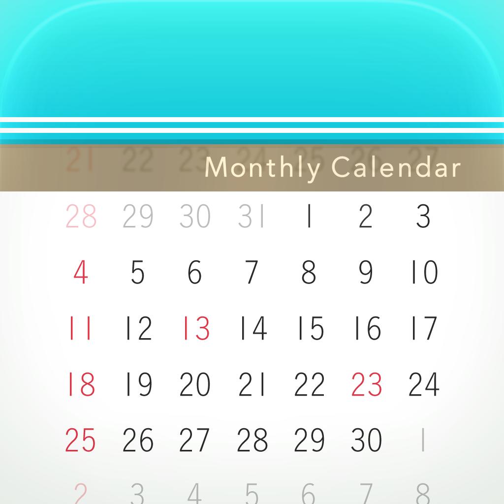 月特化カレンダー MocaHD